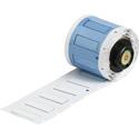 Brady PSPT-187-1-WT 1.015W x 0.335H PermaSleeve Heat Shrink 100 Roll - White