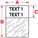 Brady PTL-103-427 1 x 1.25 Inch TLS 2200/TLS PC Link Labels (250 Roll)