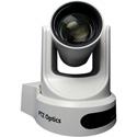 PTZOptics 12X Optical Zoom - NDI-HX 3G-SDI HDMI CVBS IP Streaming - 72.5 Degree FOV (White with US Power Supply)