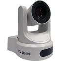 PTZOptics 12X Optical Zoom - USB 3.0 IP Network RJ45 HDMI CVBS - 1920 x 1080p - 72.5 Degree FOV (White) US Style Power
