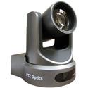 PTZOptics 20X Optical Zoom - NDI HX 3G-SDI HDMI CVBS IP Streaming - 60.7 Degree FOV (Gray with US Power Supply)
