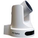 PTZOptics 20X Optical Zoom - USB 3.0 IP Network RJ45 HDMI CVBS - 1920 x 1080p - 60.7 Degree FOV (White) US Style Power