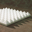 Brown Sonex Pyramids Polyurethane 24 x 24 x 4 Inch Box of 8
