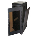 Quest WM2019-28-02 200 Series Wall Mount Enclosure - 28U Black