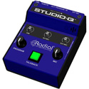 Radial Studio Q Studio Talkback with Built In Mic - External Mic Input and Program Input