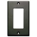 RDL CP-1B Single Cover Plate - Black