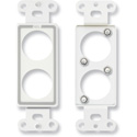 RDL D-D2 Double plate for standard and specialty connectors