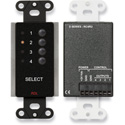 RDL DB-RC4RU 4 Channel Remote Control for RACK-UP 4x1 Audio or Video Switchers