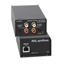 RDL SF-BNC2 Bidirectional Unbalanced Stereo Audio Network Interface