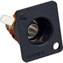 TecNec 1/4in Mono Recessed Female D Series Chassis Mount