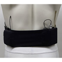 Remote Audio URS SMLSPBLK Small Waist Wireless Transmitter Strap with Small Pouch - Black