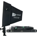RF Venue DFINBDISTRO4 4 Channel Antenna Distributor with Diversity Fin Black Install Antenna Bundle
