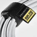 Rip-Tie RLH-095010-BK 1 Inch x 9.5 Inch Rip-Lock CableWrap 10 Pack - Black