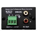 Rolls DB226 Stereo Line to Balanced Mono Converter