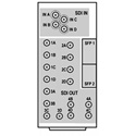 Cobalt Digital RM20-9914-A-HDBNC 20-Slot Frame Rear I/O Module - A-HDBNC for 9914 openGear Cards