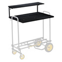 RocknRoller Multi-Cart RSHM2 2 Tier Multimedia Shelf for R8/10/12 Carts