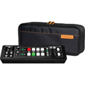 A Roland V-1HD Portable Compact Live HD Video Mixer & Production Switcher with CB-BV1 Soft Case Bundle