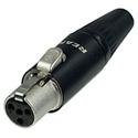 Neutrik RT4FC-B REAN TINY 4-Pole XLR Cable Connector