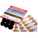 Rycote 065520 Overcovers Black Only - 30 Stickies/ 6 Fur Covers