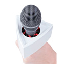 Rycote 107308 Triangular White Mic Flag for 3/4 to 1 1/2 Inch Diameter Mics