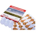 Rycote 65527 Overcovers - White only - Includes 30 Stickies and 6 White Reusable Fur Covers