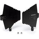 Samson SWPA1 Paddle Antennas: 470 - 980 MHz (0 dB +10 dB) 50 ohms BNC Connectors - Pair