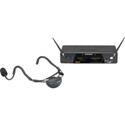 Samson SW7AVSCE-K1 AirLine 77 Wireless System Fitness Headset (AH1-Qe/CR77) - Frequency K1 489.050 MHz