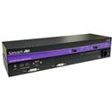 Smart-AVI FDX-S2US Dual DVI-D Stereo Audio USB 1.1 RS232 Singlemode Fiber Extender