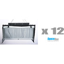SpaceBox SBLED-STKT12-220-T LED Studio Twelve Kit - Tungsten Only - 220V