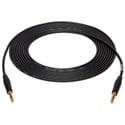 Sescom SC25SZSZ 1/4  Inch TRS to 1/4 Inch TRS  Audio Cable - 25 Foot - Black
