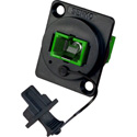 Senko UBC-211SC SC Simplex Multimode APC (Green) Panel Mount Fiber Optic Adapter