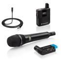 Sennheiser AVX-COMBO SET-4-US EKP Plug-On Rx w/ ME2 Lav & MD42 Handheld & Film Wireless Mic System - Li-ion Batt. Incl.