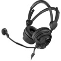 Sennheiser HMD26-II-100-8 Professional Boomset 100 Ohm with Dynamic Hyper-Cardioid Mic and Cable-II-8 Unterminated