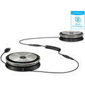 Sennheiser SP 220 MS Skype for Business - Portable Dual Speakerphone for Midsize Meeting Rooms - up to 12 Participants