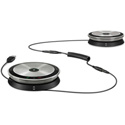 Sennheiser SP 220 UC Optimized Portable Dual Speakerphone Solution for Midsize Meeting Rooms - up to 12 Participants