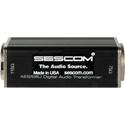 Sescom SES-AES-EBU-2 BNC Female to XLR-M AES/EBU Impedance Transformer