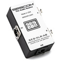 Sescom SES-XLR-AB A/B Passive Switch Balanced Audio XLR Pro Grade