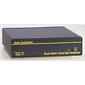 Burst SG-7 6 Black Burst Out 1 SMPTE Bars Out