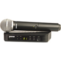 Shure BLX24-PG58-H9 Handheld Wireless System - H9 512-542 MHZ