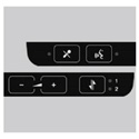 Shure FP 5981 OL 5 Overlay 5 - 5 Pack for DDS 5900 Digital Discussion System