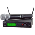 Shure SLX24/SM86-G4 Wireless Microphone System G4/470 - 494MHz