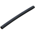 Heat Shrink Tubing 1/4in. Black- 4 Foot