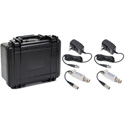 Multidyne SilverBullet Mini 3G HD/SDI Fiber Optic Link Kit - TX/RX & Case