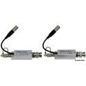 Multidyne SilverBullet Dante Certified Mini Rattler 12G HD/SDI Fiber Optic Link Kit - TX/RX & Case