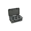 SKB 3I-20118LENS iSeries-For 6 Canon Cinema Prime Lenses (Airline carry-on size)