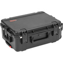 SKB 3i-2215-8B-E iSeries 2215-8 Waterproof Utility Case w/ Wheels - 22 Inch x 13 Inch x 12 Inch Empty