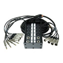Pro Co SMC1204FBQ-50 StageMASTER Snake 12 Mic 4 Ret Fan/Box 50 Ft.