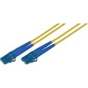 1-Meter 9u/125u Fiber Optic Patch Cable Singlemode Duplex LC to LC - Yellow