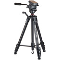 Sunpak Video Pro M4 Tripod with Fluid Head and Spreader