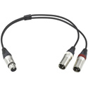 Sony EC05X5F3M 5-Pin to Dual 3-pin XLR Cable for ECM-680S